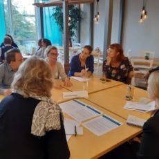 Blick hinter die Kulissen und lebhafte Diskussionen