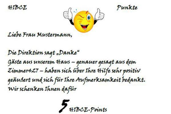 HIBCE-Points